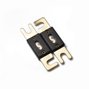 5pcs 200A Car Audio ANL large fork bolt fuse (gold plated)