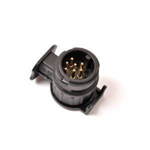 12V 13 To 7 Pin Plug Adapter Electrical Converter Truck Trailer Connector BD