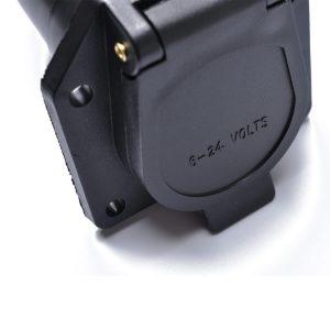 7-PIN Trailer Plug American 7 Pin Flat Blade Connector Adapter 12V Tow bar New