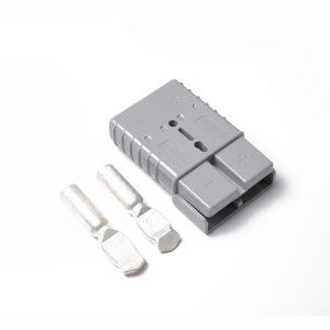 1 X GRAY 350 AMP CONNECTOR PLUG 350A TRAILER DUAL BATTERY FOR CAR CARAVAN 12v 24v 350A