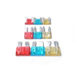 105Pcs Assorted Car Truck Mini Low Profile Fuse Micro Blade Fuse Set Kit