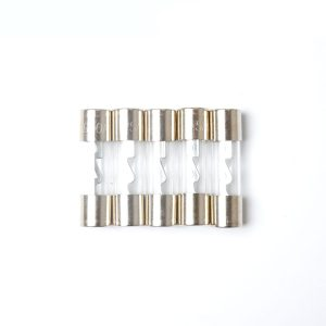 Pack of 5 Car Audio Amp Amplifier Glass 30 A AMP AGU nickel Plated Fuse 10*38mm