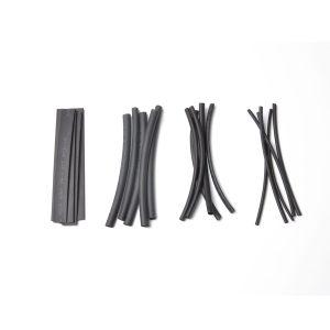 80pcs Polyolefin 2:1 4″ Wire Wrap Assortment Set Heat Shrinkable Shrink Tube 4 Sizes