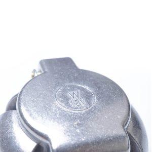 7 Pin Round Plug Female Metal Trailer Adapter Connector Boat Carvan