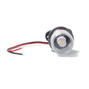 12V 3W LED 5″ BOAT ANCHOR STERN MASTHEAD NAVIGATION PEDESTAL WHITE LED LIGHT