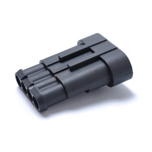 10 Kits 4 Pin Way Sealed Waterproof Electrical Wire Connector Plug Terminal Car Auto Set