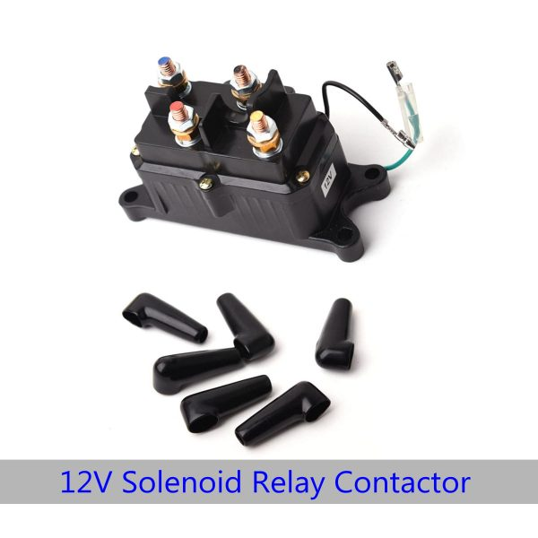 Heavy Duty Solenoid Contactor For Ramsey Warn Superwinch Champion ATV/UTV Winch