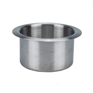 Stainless Steel Drop-in Cup Holder Table drink Holder for RV Car Truck Camper