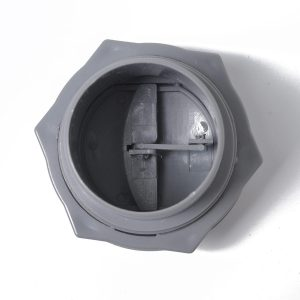 1pcs 60mm Vent Air Outlet Rotating Interior Round Ceiling for Car RV ATV A/C