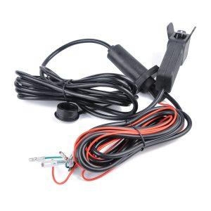 Universal 12V ATV UTV Winch Corded Remote Switch Rocker Switch Handlebar Control Line