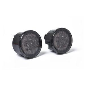 1 Pair Amber Front LED Turn Signal Light for 2007-2017 Jeep Wrangler JK Lamp