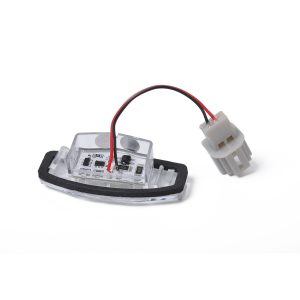 2 x New LED License Plate Light Lamp Replacement 34100S84A01 fit for Honda Civic with Licence frame