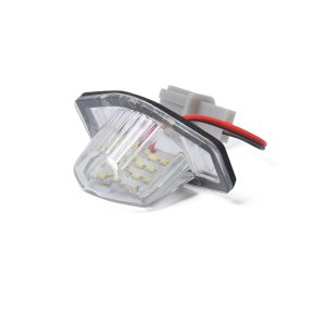 2 x New LED License Plate Light Lamp Replacement 34101S60013 fit for Honda Jazz CR-V with Licence frame