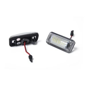 2 x New LED License Plate Light Lamp Replacement 84912FG110 fit for Toyota 86 Subaru with Licence frame
