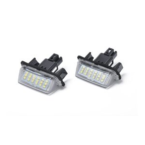 2 x New LED License Plate Light Lamp Replacement 812700D120 fit for Toyota Camry Yaris with Licence frame