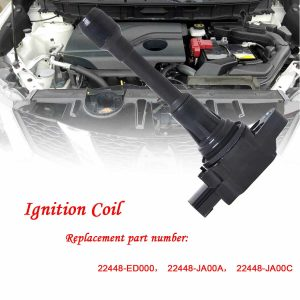 New Ignition Coil Replacement for 2007-2012 Nissan Altima Sentra OEM:22448-ED000 22448-JA00A