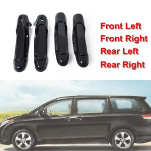 1 Set Outside Door Handle Fit For 98-03 Toyota Sienna Front Rear Left Right 4PCS