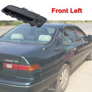 Black Handle Fit For 1997-2001 Toyota Camry Outside Door Handle Driver Front Left