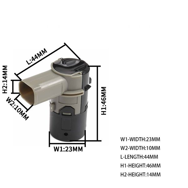 OEM:66216911834 – Product Name:Parking Aid Sensor – for BMW – Replacement cost
