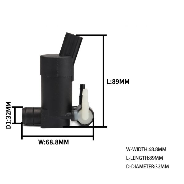 OEM:30663139 – Product Name:Windshield Washer Pump – for Volvo – Replacement cost