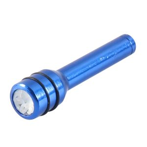 Aluminum Alloy Blue Diamond Car Door Lock Knobs Kit for Cars