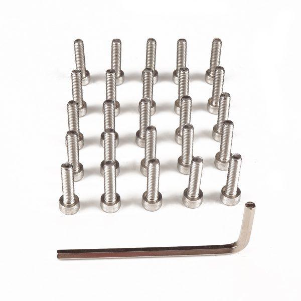 M5 304 Stainless Steel Allen Bolt Socket Cap Screws Hex Head DIN912