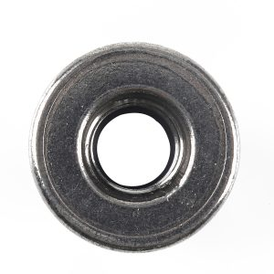 100 Packs 7 Type (M3/4/5/6/8/10/12) Stainless Steel Hexagon Flange Nylon Nut With Wrench for Machinery