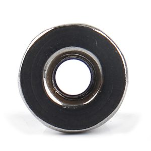 10 Packs-M4 Stainless Steel Hexagon Flange Nylon Nut With 7mm Wrench for Machinery