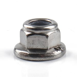 10 Packs-M3 Stainless Steel Hexagon Flange Nylon Nut With 5.5-7mm Wrench for Machinery Ebay Hot Seller