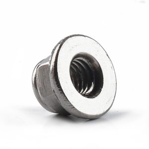 10 Packs-M6 Stainless Steel Hexagon Flange Nylon Nut With 10mm Wrench for Machinery