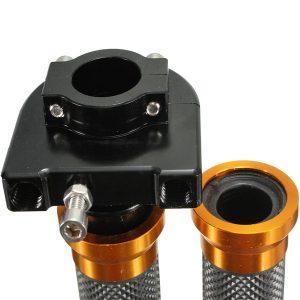 22mm CNC Aluminum Throttle Tube Handbar Grips For Motorcycle Dirt Bike