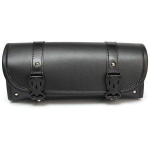 Motorcycle Saddle Bag Storage Tool Pouch Roll Barrel Bag For Harley Davidson
