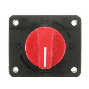 100A Battery Power ON OFF Disconnect Rotary Isolator Kill Switch For Boat Car Van Truck