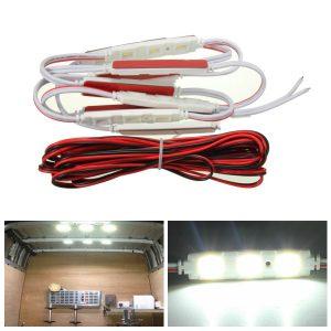 10pcs LED Car Interior Light For LWB Van Lorries Sprinter Ducato Transit 12V DIY