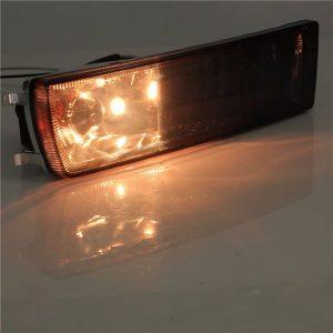 12V 21W Front Smoked Lens Fog Light Corner Signal Light for VW Golf Jetta Mk3
