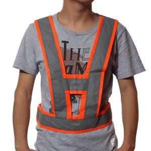 Visibility Traffic Waistcoats Vest Security Reflective Stripes Safety Jacket