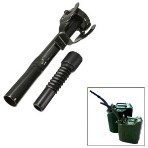 Flexible Metal Pouring Spout With Free Fuel Nozzel For 5/10/20L Gerry Jerry Cans