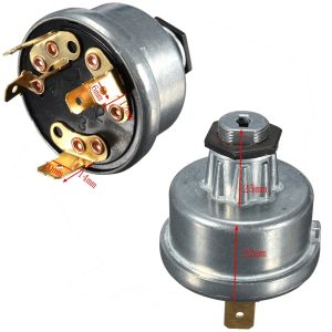 Digger Plant Tractor Ignition Switch For Lucas 35670 Massey Ferguson