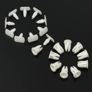 10pcs Side Skirt Door Sill Card Panel Linning Repair Trim Clips For Mercedes Benz