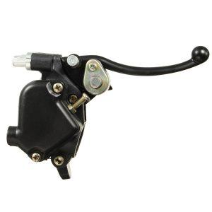 Thumb Throttle Twin Brake Lever 22mm 7/8inch For Mini Moto Quad Pit Bike ATV