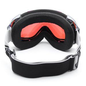 Motorcycle Snowboard Ski Goggles Unisex Spherical Anti Fog Dual Lens Outdooors Glasses