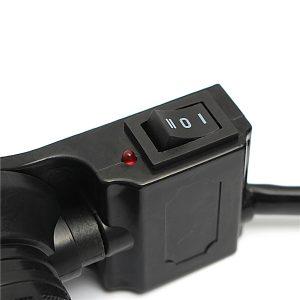 12V Motorcycle Bike ATV 7/8inch 22mm Heated Handlebar Grips Electric Warmers Hot