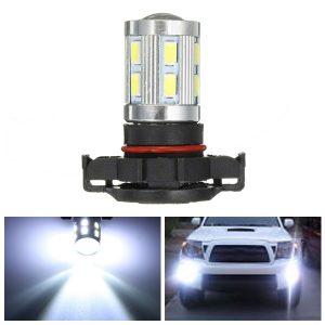 12V PSX24W/H16 White 6000K LED Bulbs 5730/5630 SMD Fog Driving Light