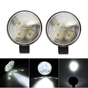 12V-80V 20W 6000K 3 Inch LED Work Fog Spot Light Headlight Waterproof For Motorcycle Car Truck Boat Marine