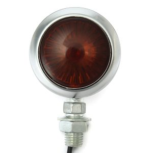 Pair 12V Motorcycle Turn Signal Indicator Light Lamp For Harley