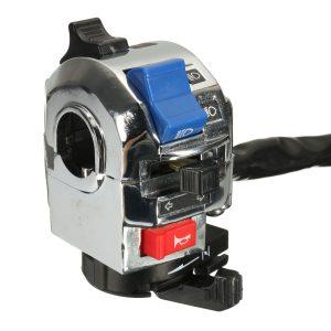 7/8 inch Handlebar Horn Turn Signal Light Start Control Switch Motorcycle Universal