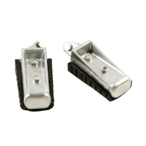 Motorcycle Front Footrest Pedal Foot Pegs for Yamaha XV125 XV250 XVS250 XVS650
