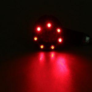 Pair Universal Motorcycle LED Turn Signal Indicators Light Brake Rear Running Lamp