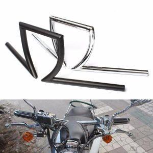 7/8inch Motorcycle Drag Handlebar Z Bar For Yamaha Suzuki Honda Chopper Bobber