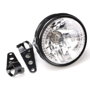 7inch 35W Motorcycle Headlight Turn Signal Light With Bracket Mount